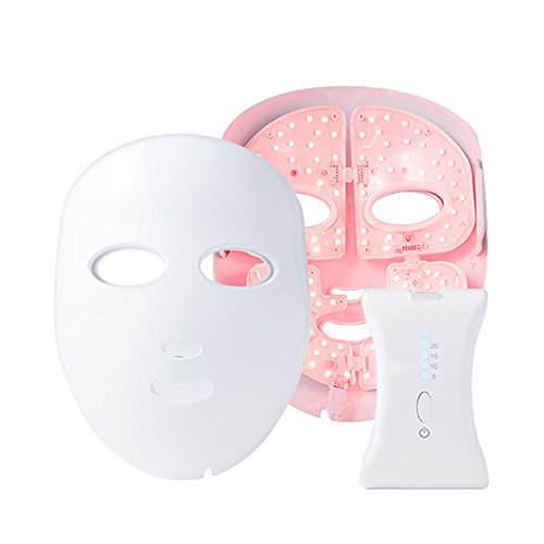 CARECELL LED Mask Care with exclusive ampoule / Mask skin care anti-aging wrinkles LED light therapy by Carecell