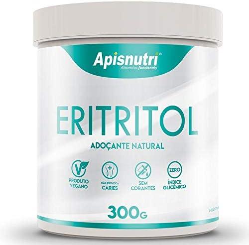 Eritritol Adoçante Natural Apisnutri 300g por Apisnutri