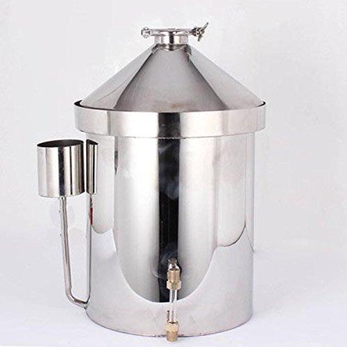 32 L/8 Gallon Household Alcohol Distiller Moonshine Still Spirits Ethanol Stainless Steel Boiler Water Distiller Wine Making Kit by WMN_TRULYSTEP (Image #7)