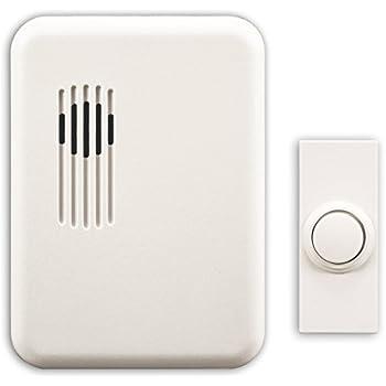 Amazon Com Heath Zenith Wireless Molded Door Chime Sl