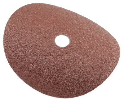Forney Industries 71655 50 Grit Resin Fibre Aluminum Oxide Steel Sanding Disc - 7 in. (Forney Sanding Industries Disc)