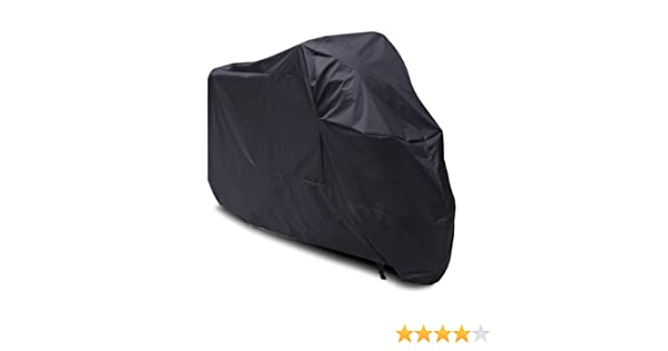 Amazon.com: Black Motorcycle Cover For Yamaha Scooter Vino 125 /C3/Zuma/Raz UV Dust Protector M: Automotive