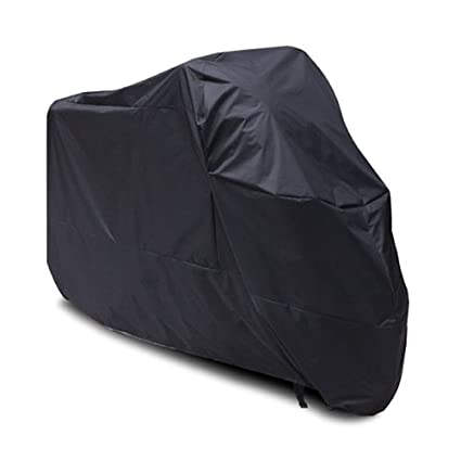 Black Motorcycle Cover For Yamaha Scooter Vino 125 /C3/Zuma/Raz UV Dust