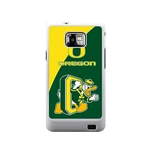 NCAA Oregon Ducks Logo Green and Yellow Samsung Galaxy S2 Hard Case Cover at NewOne