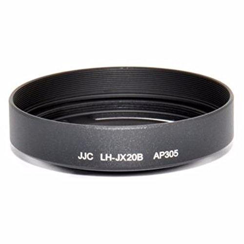 JJC LH-JX20B Parasol Alrededor, Fujifilm X10, X20, Negro, Aluminio, 6 cm, 3,5 cm