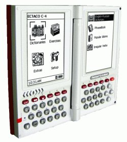 ECTACO Partner C-4DR German <-> Russian Professional Talking Electronic Dictionary & eBook by Partner