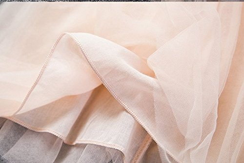 EGELEXY Baby Girls Sleeveless Lace Wedding Vintage Birthday Party Princess Flower Dress CHUN-0360