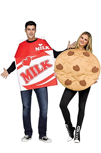 Fun World Milk and Cookies Costume for Adults -