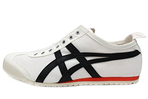 Onitsuka Tiger Unisex Mexico 66 Slip-on Shoes D3K0N, Cream/Black, 9 M ()