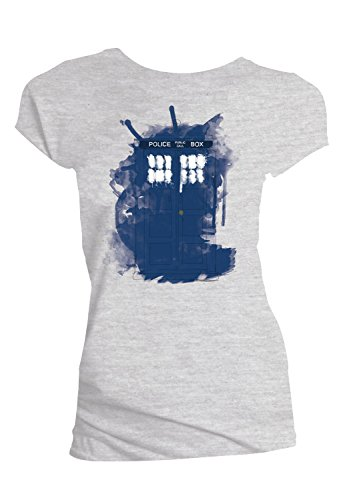Women's Doctor Who TARDIS Modern Art T-Shirt