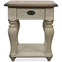 Coventry Two Tone 28 in. Rectangular End Table