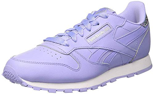 Classic Leather Reebok Viola Bambina Sneaker Pastel Glow bianco lilac white d6xwgqx