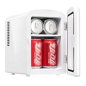 Mini Nevera Nevera portátil eléctrica de 4 litros con enfriador de ...