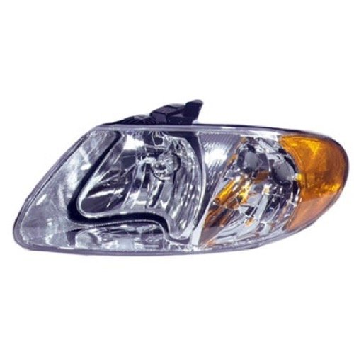 (Go-Parts ª OE Replacement for 2001-2003 Chrysler Voyager Front Headlight Headlamp Assembly Front Housing/Lens/Cover - Left (Driver) Side 4857701AC CH2502129 for Chrysler Voyager)