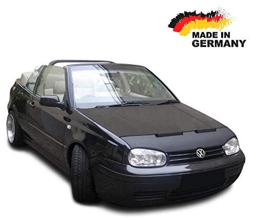 Hood Bra for VW Golf 4 CABRIO Bonnet Car Bra Front End Cover Nose Mask Stoneguard Protector ()