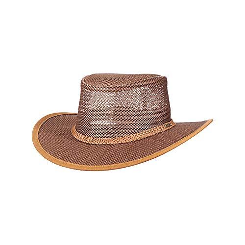 Stetson Men's Mesh Covered Hat, Beaver, Large ()