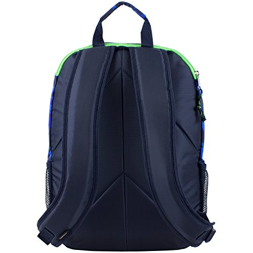 D&A 18'' Blue Green Multi Camouflage Pattern Backpack, Beautiful Camo Army Love by D&A (Image #4)