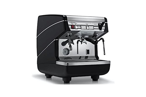 a II Semi-Auto 1 Group Espresso Machine MAPPIA5SEM01 with Free Espresso Starter Kit and 3M Water Filter System ()