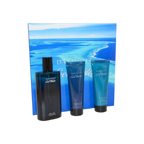 Cool Water Men Eau-de-toilette Spray, Shower Gel and After Shave Balm by Zino ()