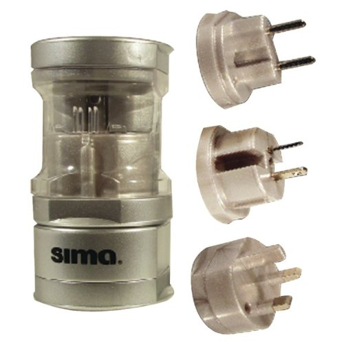 Sima International Plug - Sima International Compact Travel Power Plug Set
