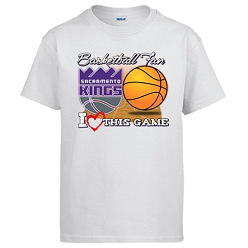 Camiseta NBA Sacramento Kings Baloncesto Basketball Fan I Love This Game: Amazon.es: Ropa y accesorios