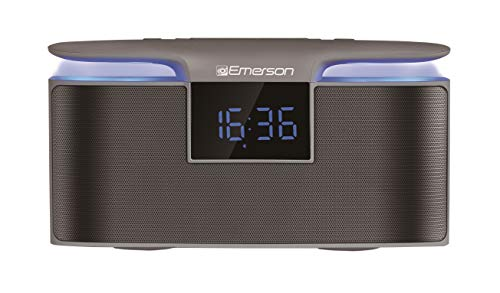 Emerson Portable Bluetooth Speaker, 12W Stereo, USB Charging