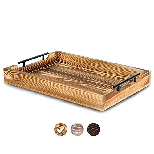 Rustic Serving Tray by East World - 20