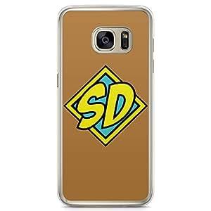 Loud Universe Scooby Doo Logo Samsung S7 Edge Case with Transparent Edges