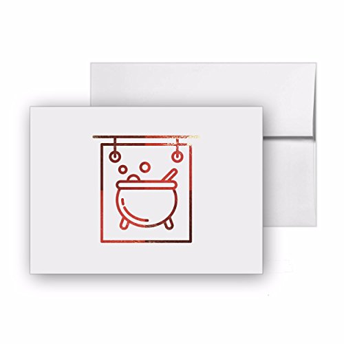 Wizard Sign Halloween Mythology Magic, Blank Card Invitation Pack, 15 cards at 4x6, with White Envelopes, Item 37357