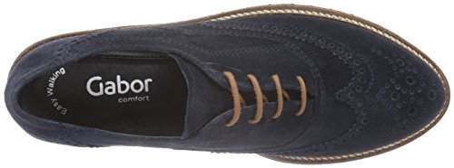Gabor Damen Comfort Sport Derby Blau (oceano (ss / C) 36)