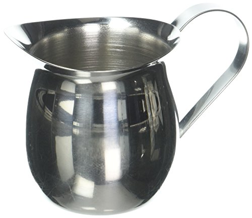 (Tablecraft H2305 Bell Creamer with Mirror Finish, 5 oz, Stainless Steel)