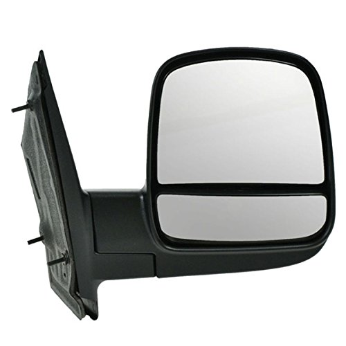 - 08-14 Chevy Express Van Manual Black Fold Rear View Mirror Right Passenger Side