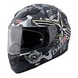 LS2 LS-02 Full Face Helmet (White, L)