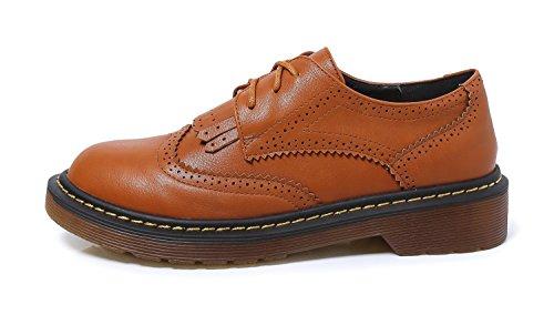 EU Marron pour 5 Lacets à Ville Chaussures Minotta 36 Marron Femme de wPxqHSW41