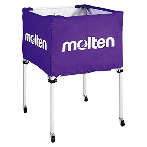 モルテン(Molten) 折りたたみ式ボールカゴ(中背高 屋内用) パープル BK20HP B01CXHFEIA