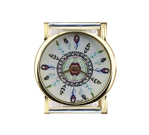 TVT Feathers Watch Face for Your Interchangeable Beaded Bands XE-FWD
