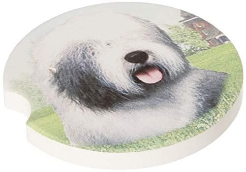 E&S Pets Old English Sheepdog Coaster, 3