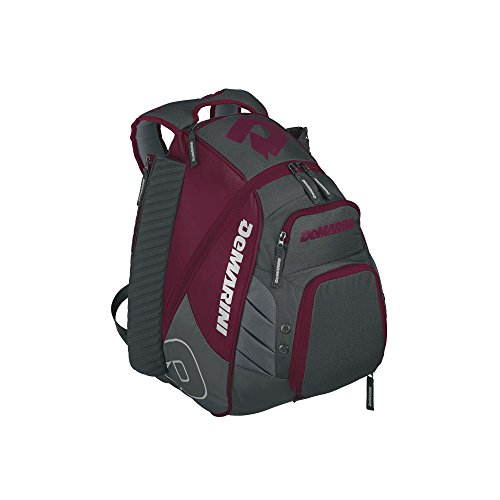 DeMarini WTD9105MA Voodoo Rebirth Backpack, Maroon (Softball Field Equipment)