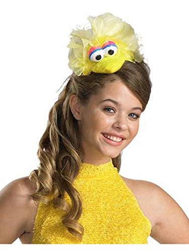 Disguise Women's Sesame Street Big Bird Adult Headband Costume Accessory, Yellow, One Size