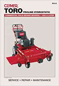 Amazon.com: Toro Proline Hydrostatic: Commercial Walk-Behind ...