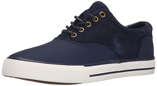 Polo Ralph Lauren Hombres Vaughn Saddle Zapatillas Moda Newport Navy