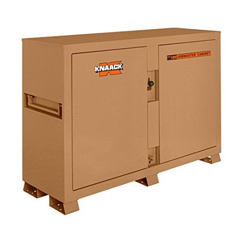 Knaack 129 Jobsite Bin Storage Cabinet, 48 cu. ft. - 48' Cabinet