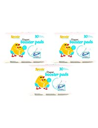 Sposie Booster Pads Diaper Doubler, 90 Count, 3 Packs of 30 Pads BOBEBE Online Baby Store From New York to Miami and Los Angeles