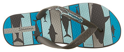 Ipanema Shark, Jungen Flip Flops Grau