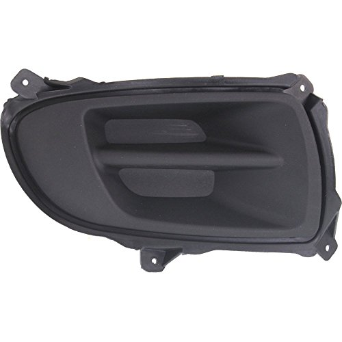 Evan-Fischer EVA24304022013636 Fog Light Cover for Kia Spectra 07-09 Black New Body Style Right Side
