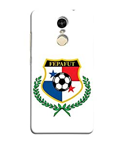 ColorKing Football Panama 10 White shell case cover for Xiaomi Redmi Note 4