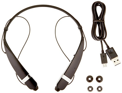 Pro Stereo Headset - LG Electronics Tone Pro HBS-760 Bluetooth Wireless Stereo Headset - Retail Packaging - Black