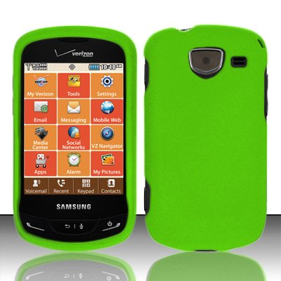 Importer520 Rubberized Snap-On Hard Skin Protector Case Cover - Samsung Brightside Covers