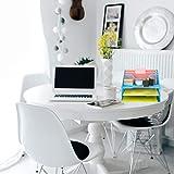 Mind Reader MESHBOX5-BLU Mesh Organizer 5 Desktop