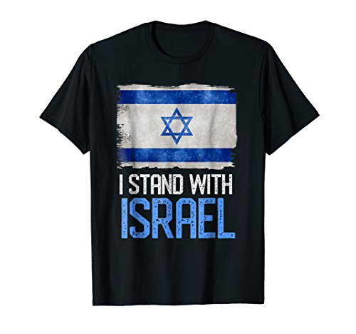 I Stand With Israel Flag Shirt Independence Men Women Kids